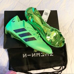 Adidas Nemeziz Messi 18.1 Soccer Cleat Solar Green